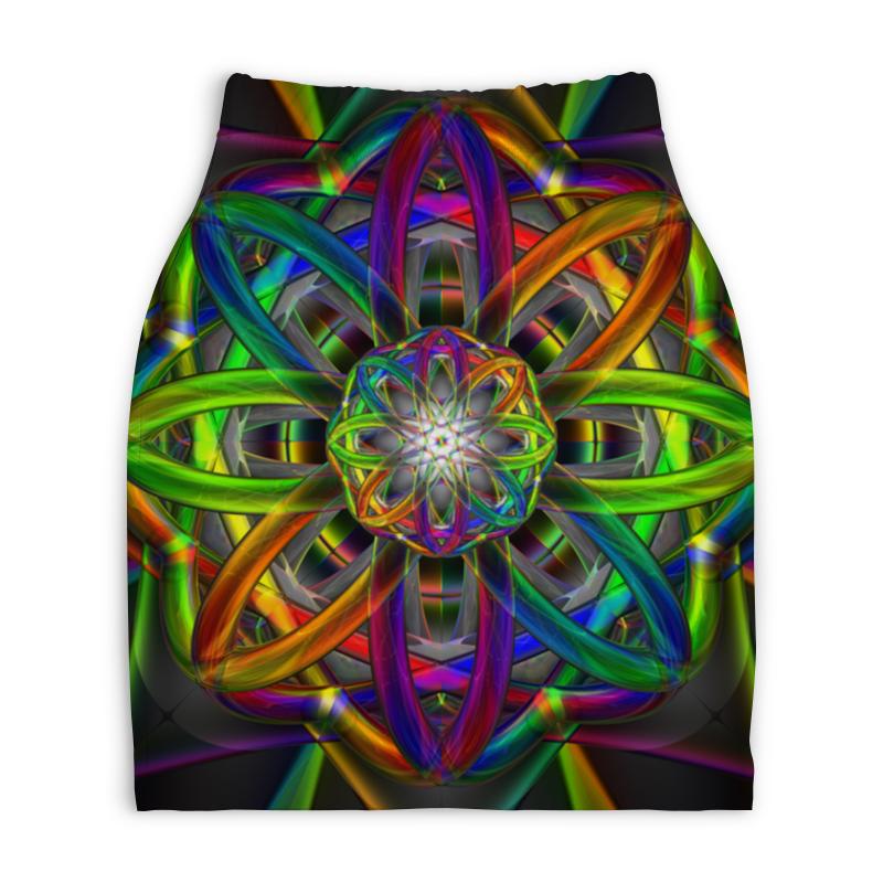 Юбка-карандаш укороченная Printio Rainbow dimensions dimensions скалистый берег москва