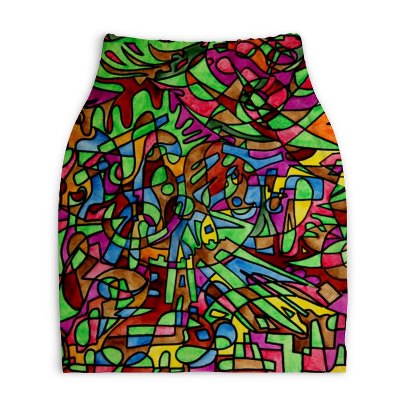 Юбка-карандаш укороченная Printio S`s`s-0.w юбка s cool юбка