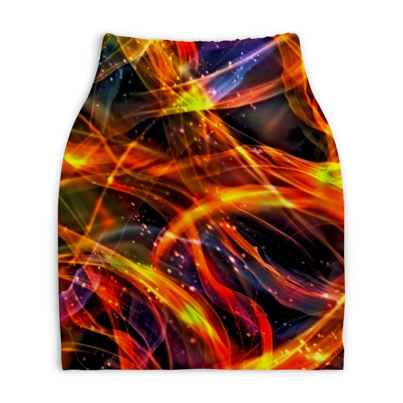 Юбка-карандаш укороченная Printio Пламя юбка карандаш printio пламя