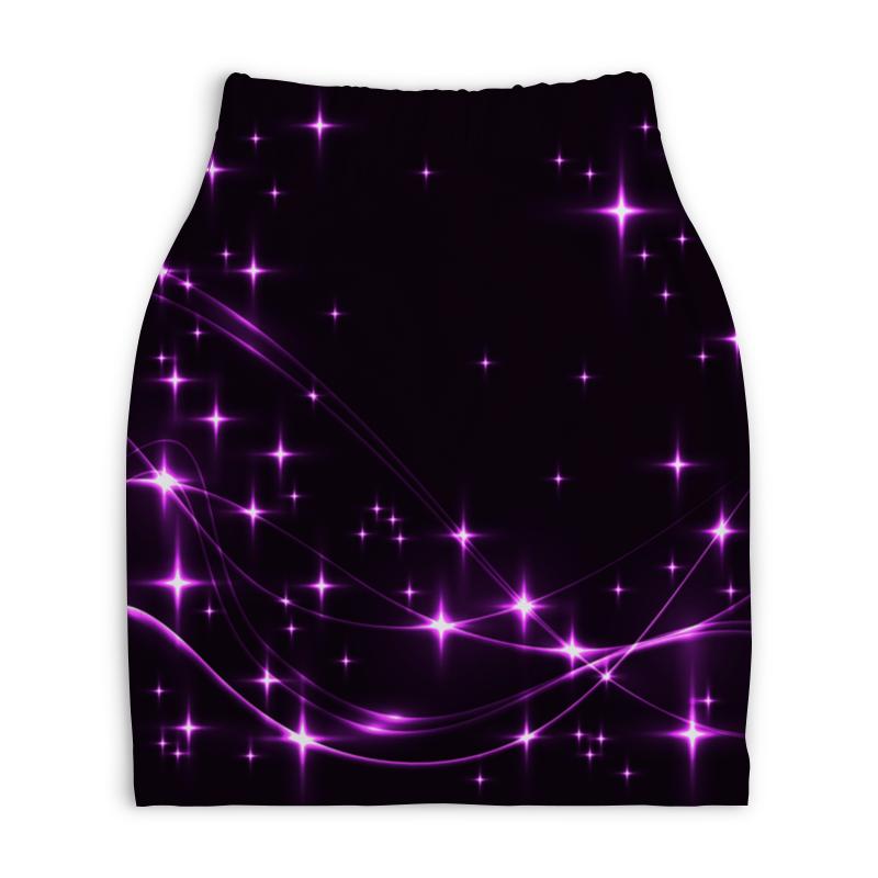 Юбка-карандаш укороченная Printio Блеск звезд дубини мириам танец падающих звезд