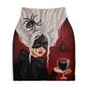 "Юбка-карандаш укороченная ""Черная вдова"" - готика, девушка, ведьма, пауки, черная вдова"