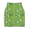 "Юбка-карандаш укороченная ""Панды"" - панда, панды, бамбук, растения, мимими"