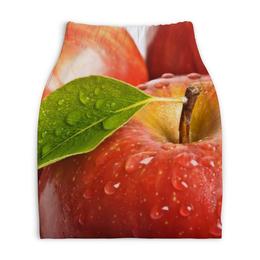 """Юбка-карандаш укороченная """"Яблочный рай"""" - природа, яблоко, фрукты"""