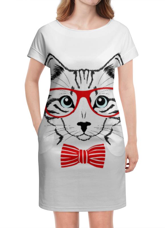 Платье летнее Printio Кошка андрей дашков домашнее животное