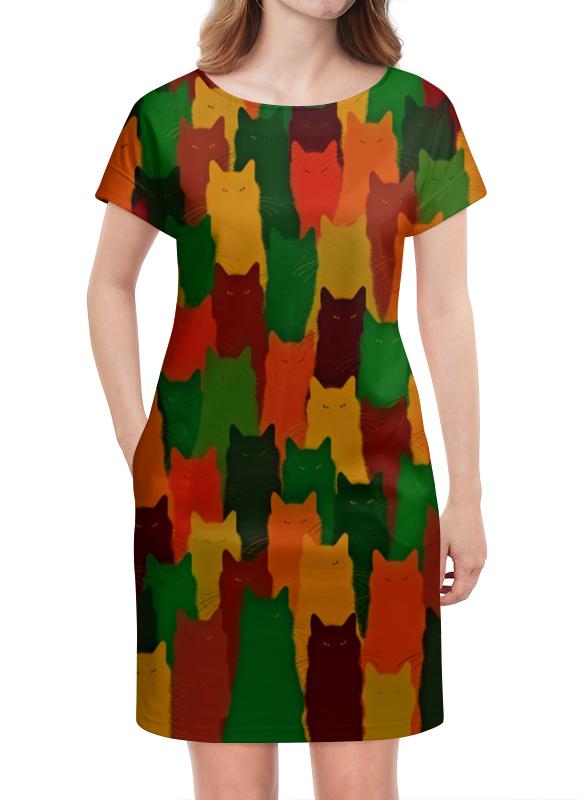 Платье летнее Printio Домашние питомцы домашние костюмы
