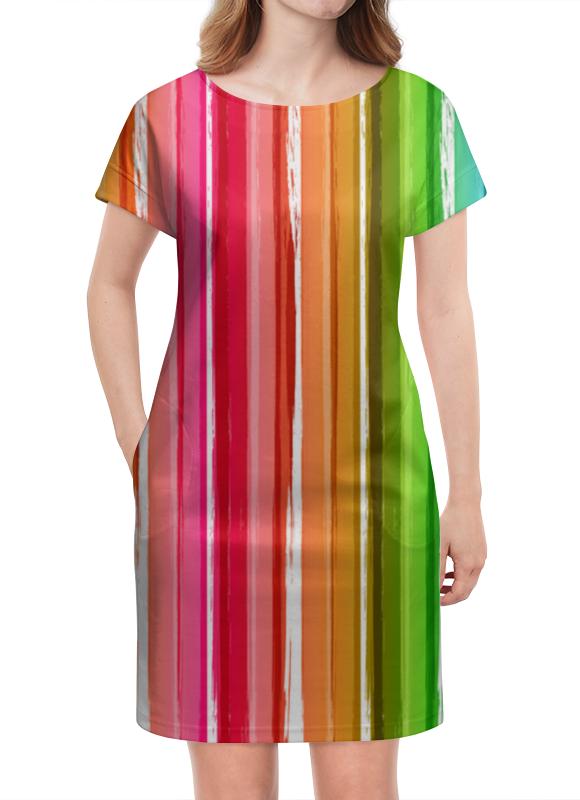Платье летнее Printio Цветная радуга кружка printio радуга