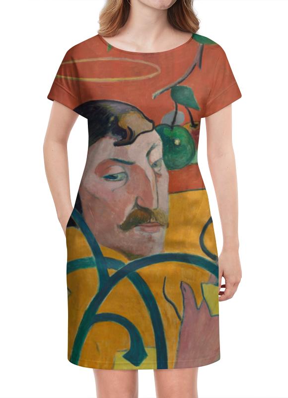 Платье летнее Printio Автопортрет-гротеск, поль гоген