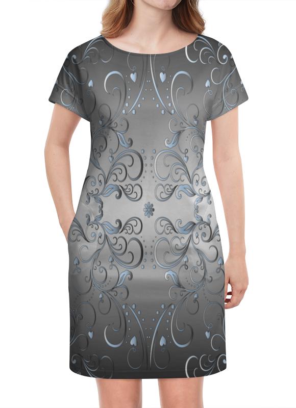 Платье летнее Printio Расписные линии платье летнее printio расписные черепа