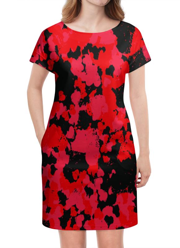 Платье летнее Printio Краски printio платье летнее