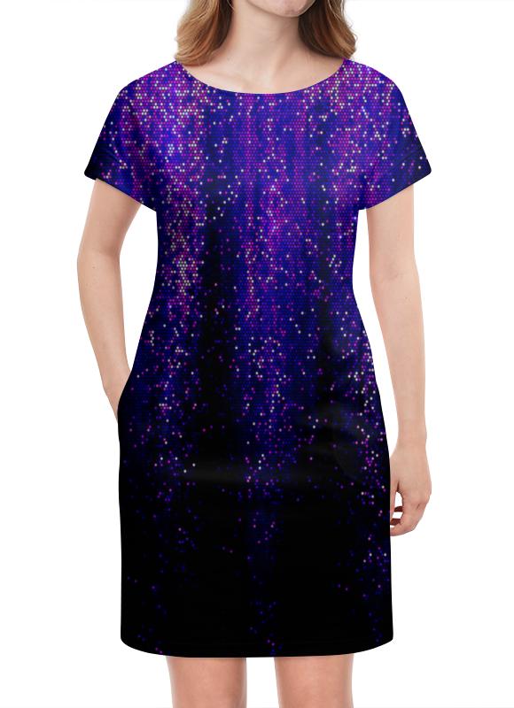 Платье летнее Printio Синий блеск