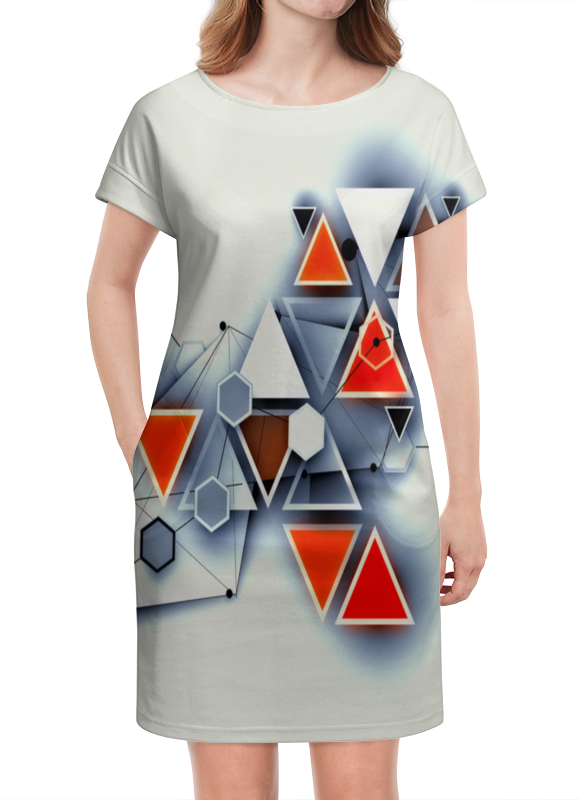 Платье летнее Printio Элементы элементы интерьера