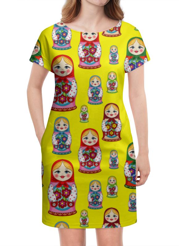 Платье летнее Printio Матрёшки