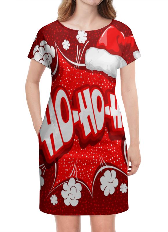 Платье летнее Printio Ho ho ho коврик для мышки printio ho ho ho