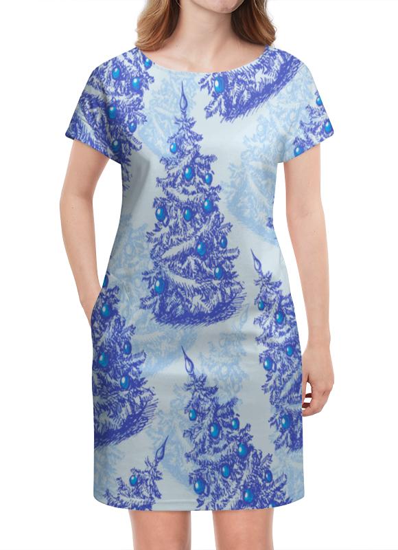Платье летнее Printio Снежные елки