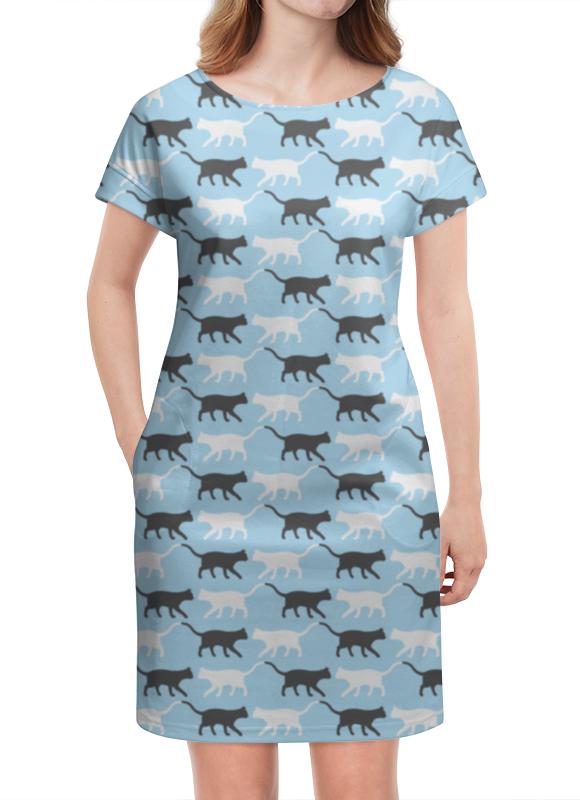 Платье летнее Printio Котики