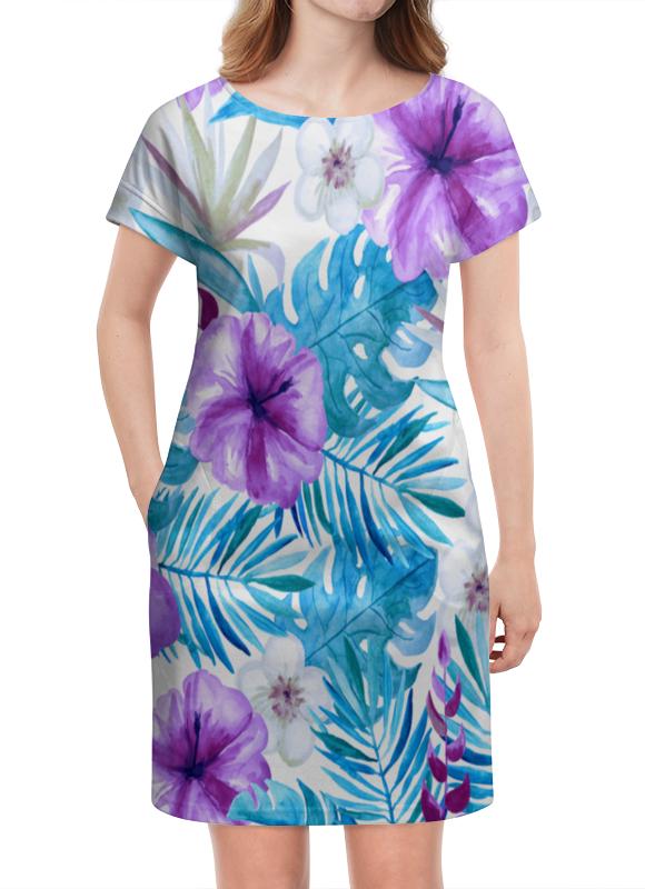 Платье летнее Printio Тропические цветы
