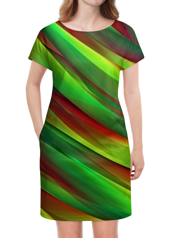 Платье летнее Printio Полосы платье летнее printio березка