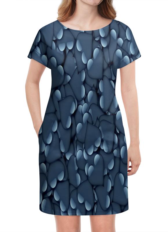 Платье летнее Printio Сердца
