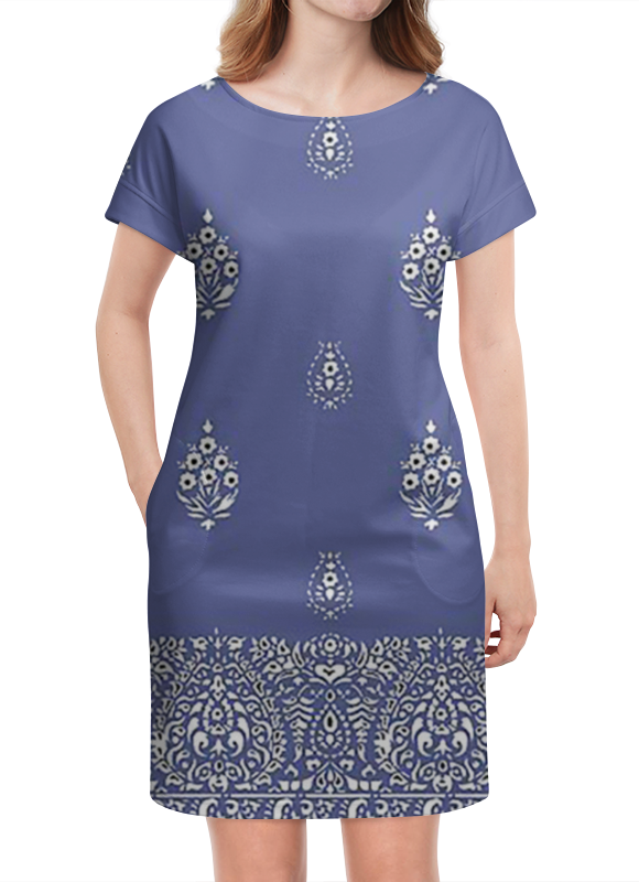 Платье летнее Printio Синева платье летнее printio березка