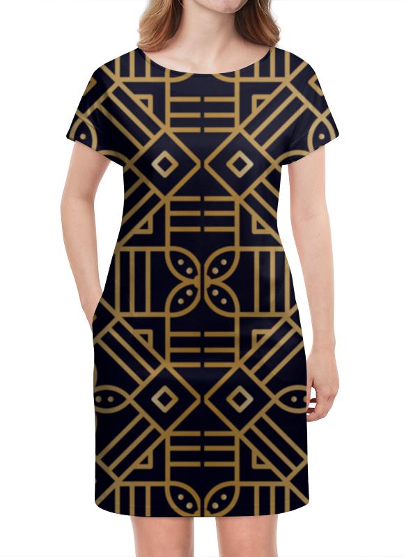 Платье летнее Printio Цветочное золото