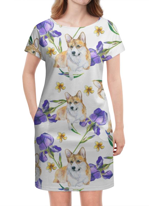 Платье летнее Printio Летний ветер падение сквозь ветер