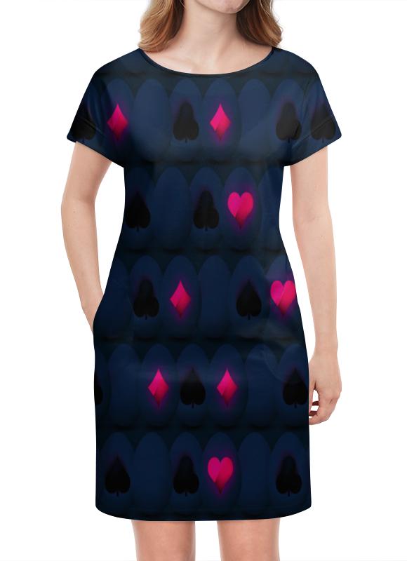 Платье летнее Printio Карты
