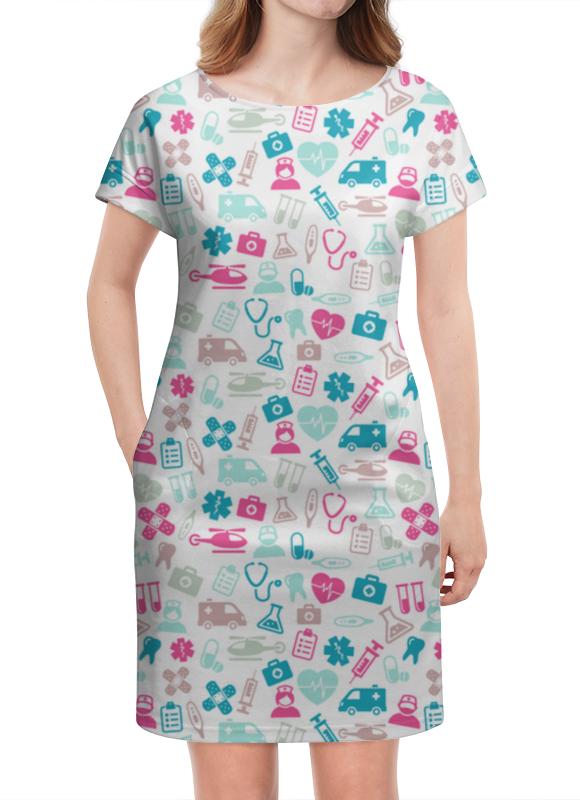 Платье летнее Printio Доктор (doctor) платье doctor e doctor e mp002xw1aqok