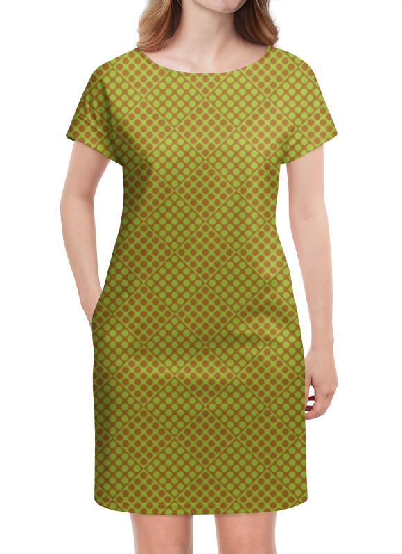 Платье летнее Printio Горох в квадрате платье летнее в москве