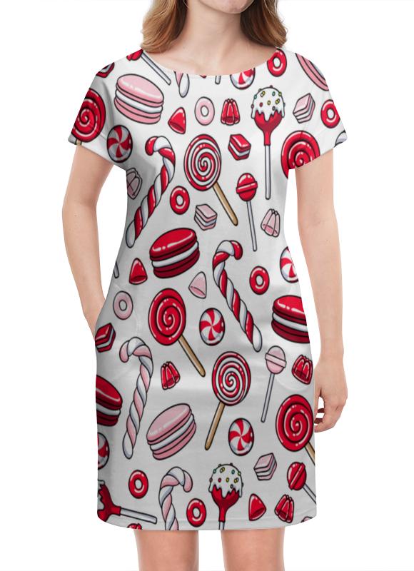 Платье летнее Printio Леденцы