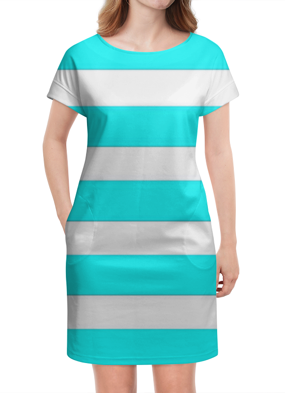 Платье летнее Printio Полосочки