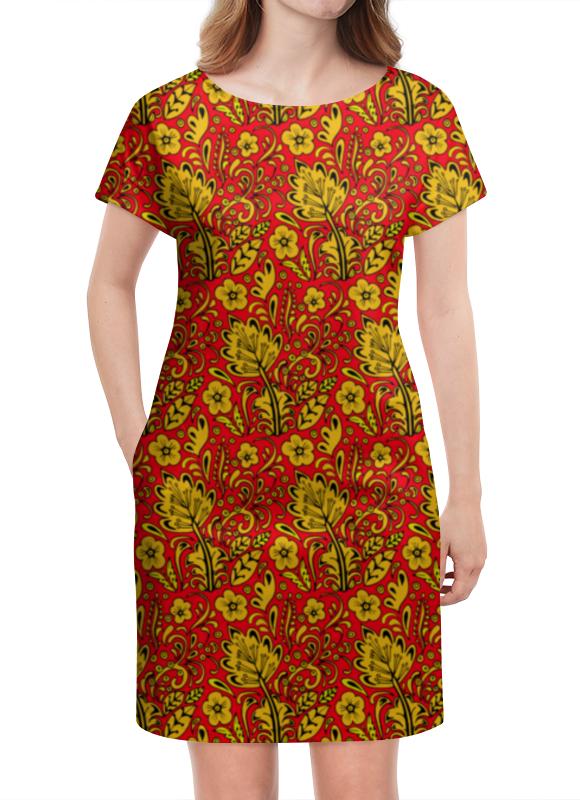 Платье летнее Printio Хохлома