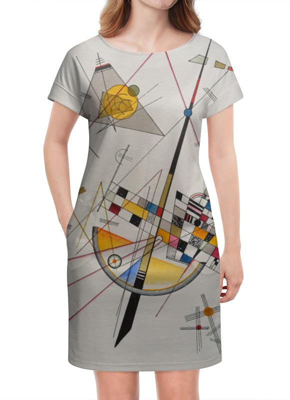 Платье летнее Printio Тонкое напряжение (василий кандинский) василий фомин русский крым карадаг по вулкану босиком