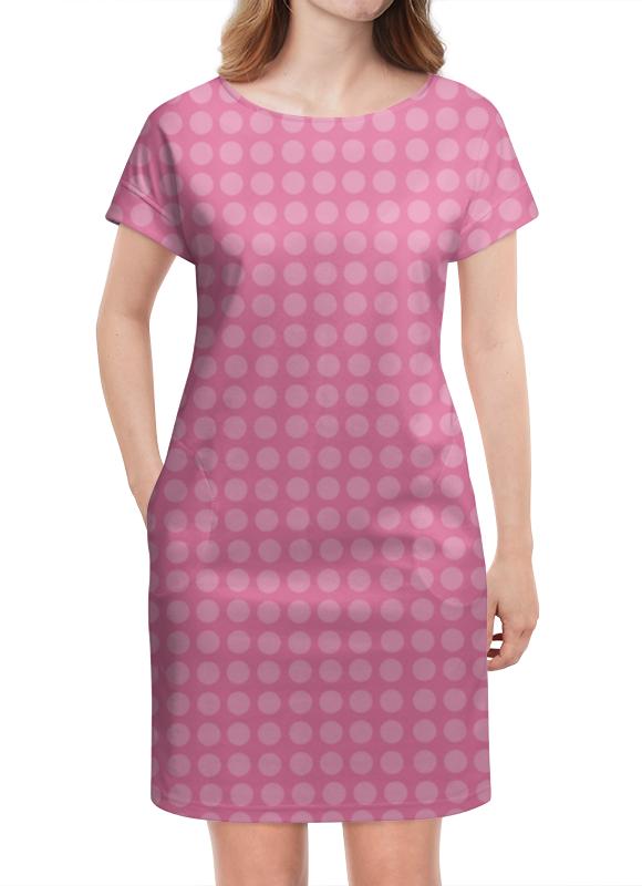 Платье летнее Printio Kitty в горошек платье голубое в белый горошек