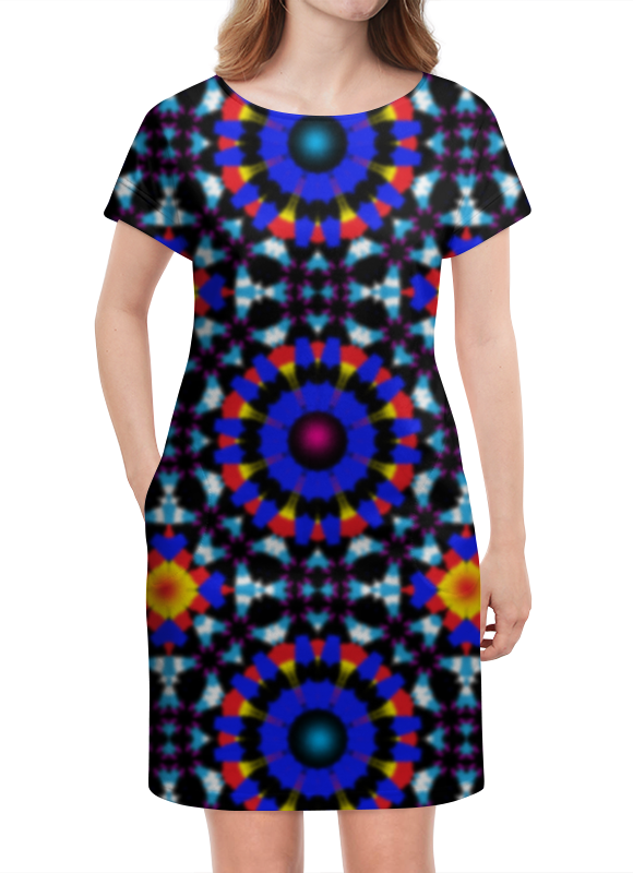 Платье летнее Printio Ультрамарин платье летнее printio пересечение