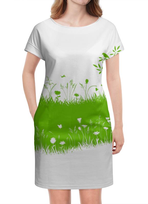 Платье летнее Printio Летняя трава