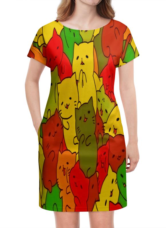 Платье летнее Printio Кошки