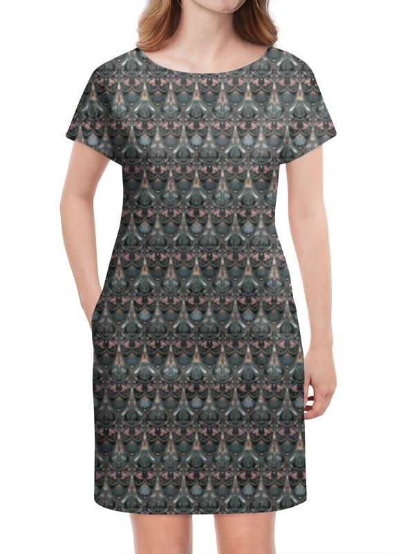 Платье летнее Printio Модный флоральный паттерн милитари платье летнее в москве