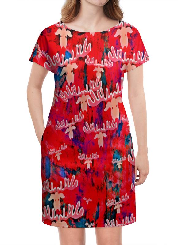 Платье летнее Printio Олени