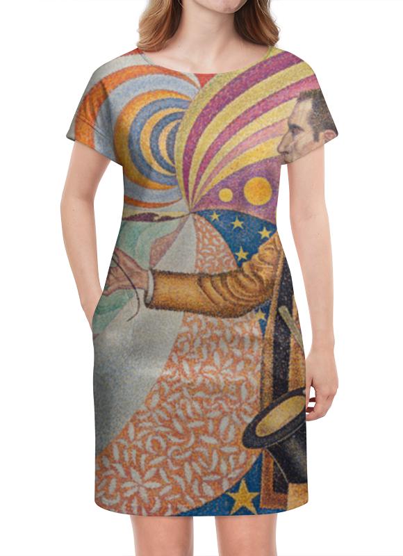 Платье летнее Printio Портрет феликса фенеона (поль синьяк) синьяк блокнот