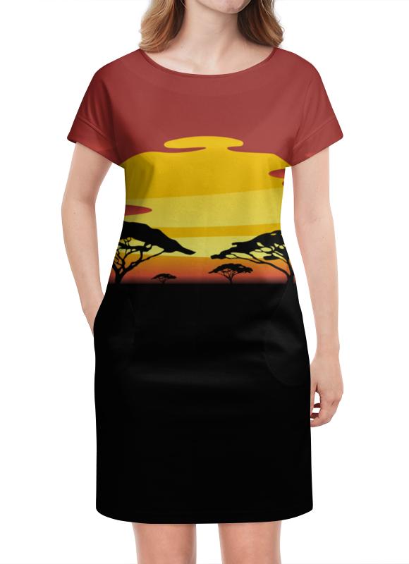 Платье летнее Printio Африка платье летнее в москве
