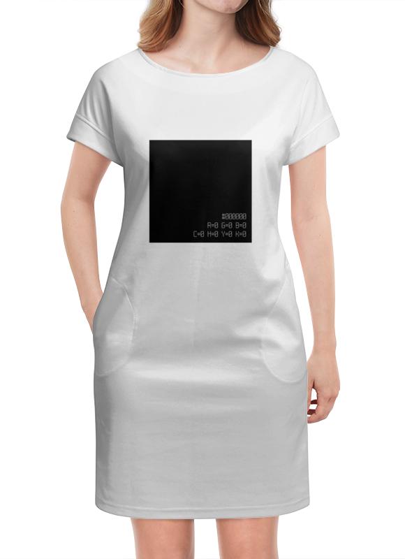 Платье летнее Printio Черный квадрат культ платья bracegirdle платье квадрат