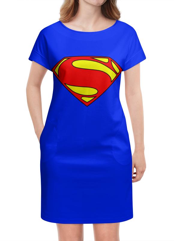 Платье летнее Printio Supergirl supergirl book two