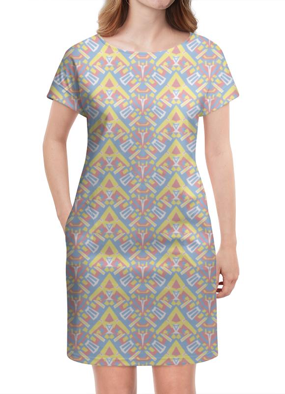 Платье летнее Printio Ngjjvbn480 платье без рукавов printio ngjjvbn480