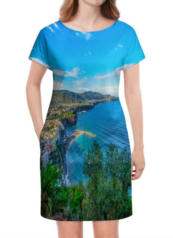 Платье летнее Printio Город на берегу город на стиксе