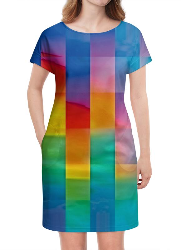 Платье летнее Printio Квадрат культ платья bracegirdle платье квадрат