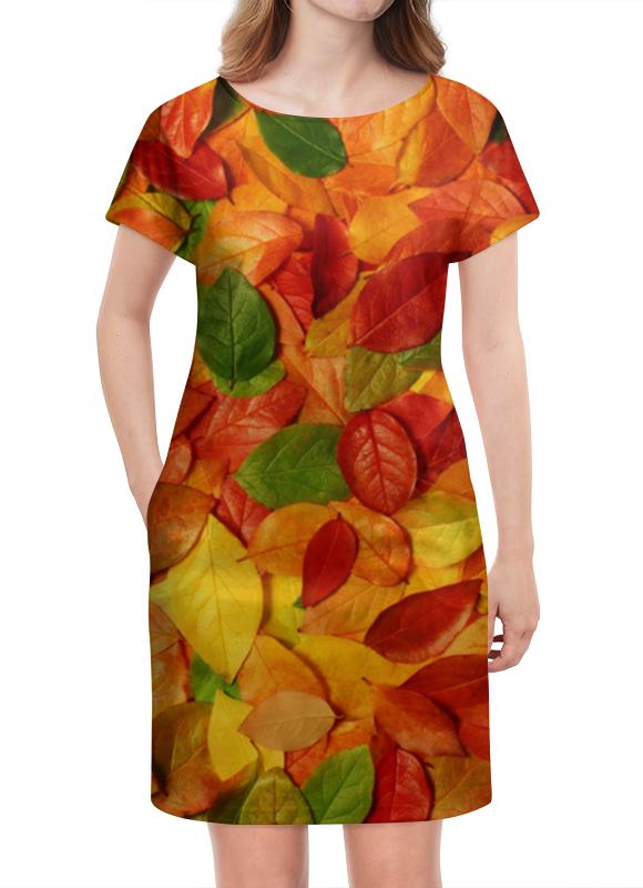 Платье летнее Printio Осенняя листва