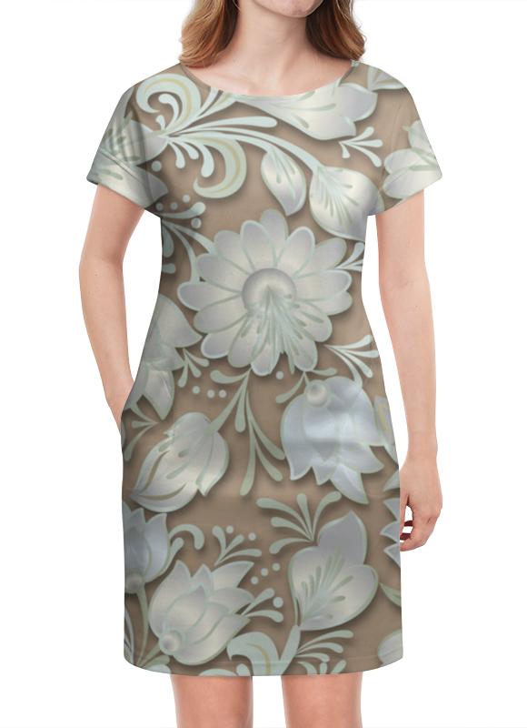 Платье летнее Printio Цветы