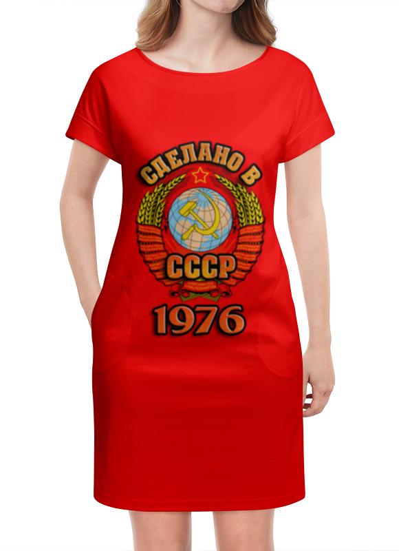 Платье летнее Printio Сделано в 1976 платье летнее в москве