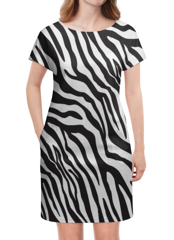 Платье летнее Printio Зебра платье летнее в москве