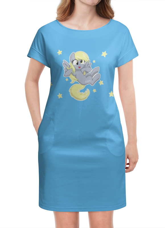 Платье летнее Printio My little pony (derpy) футболка wearcraft premium printio my little pony дёрпи derpy